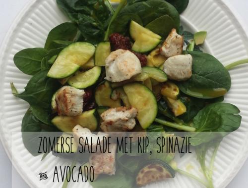recept spinaziesalade