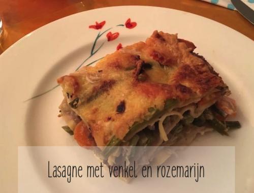 lasagne met venkel