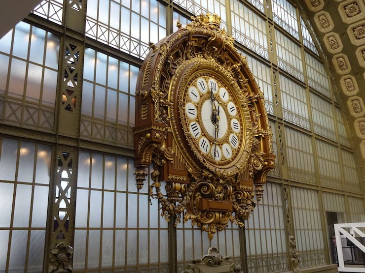 Klok Musee d'Orsay