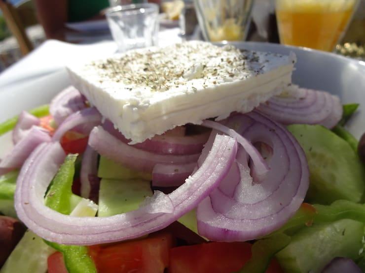 Griekse salade Kreta
