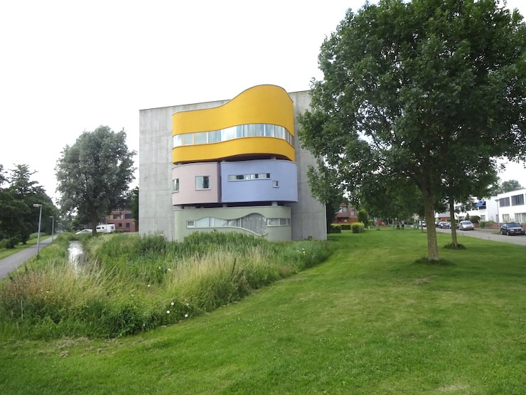 wall house groningen