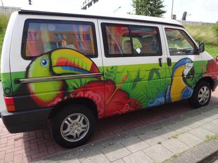 hippie minivan groningen