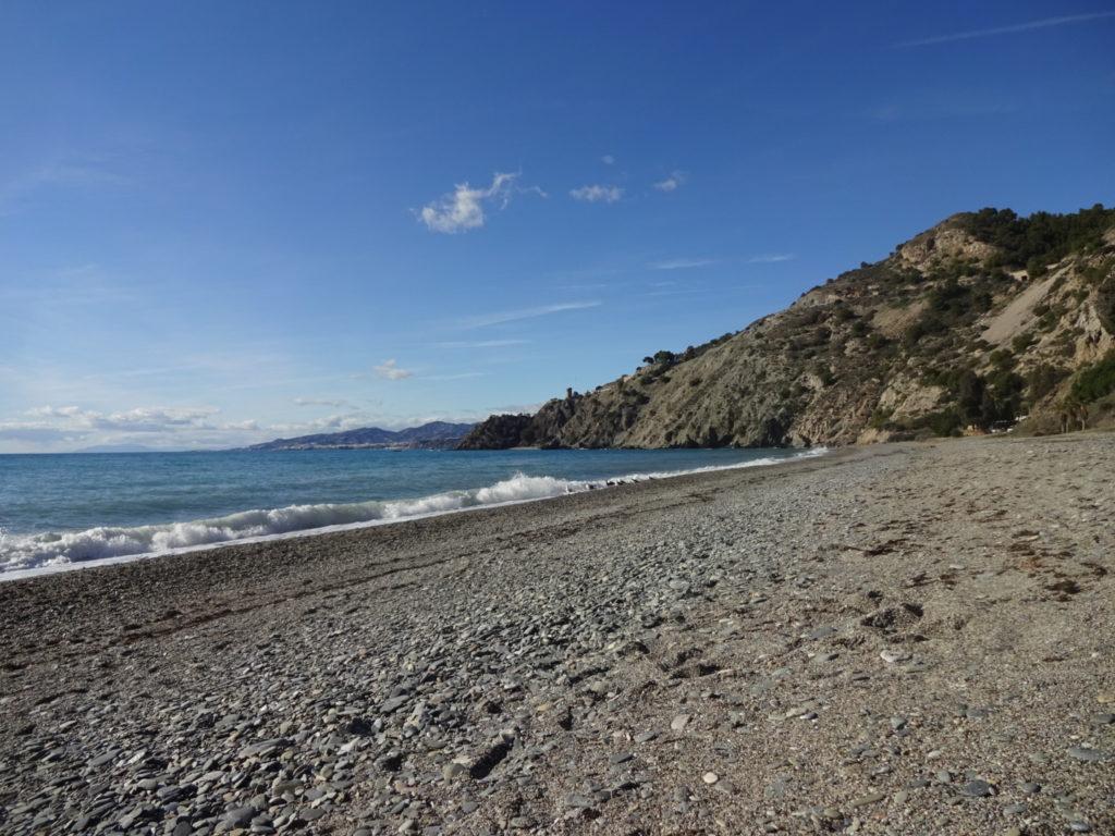 nerja rustig strand
