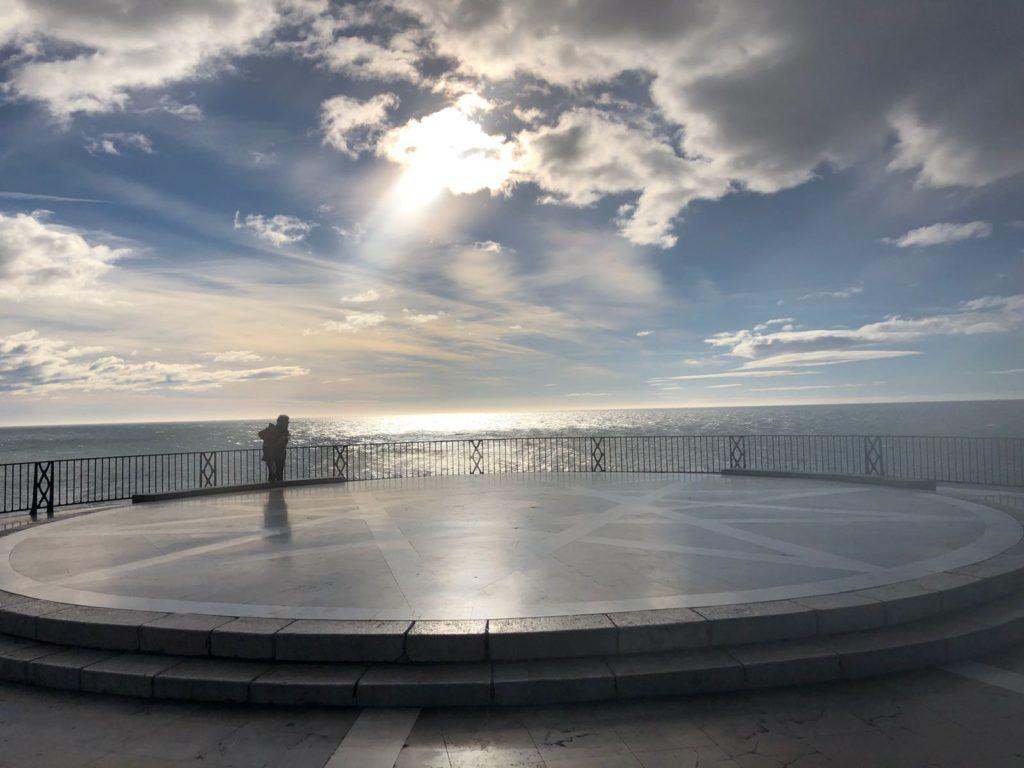 uitzicht balkon van europa nerja