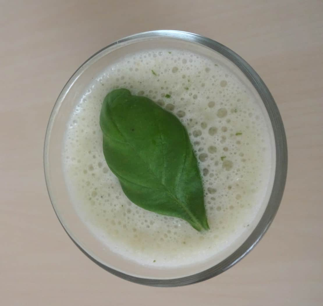 recept smoothie citroen basilicum