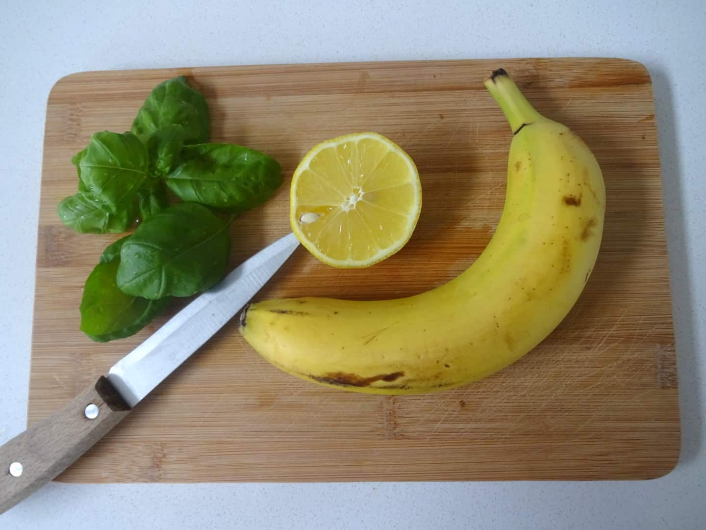smoothie citroen banaan