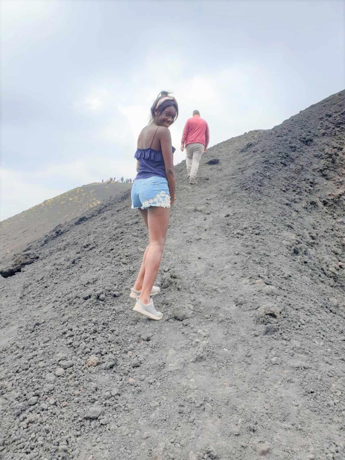 Etna beklimmen Sicilië