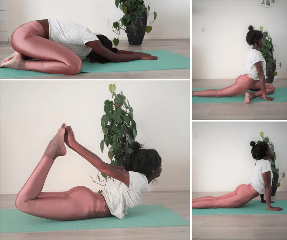 hatha yoga basishoudingen